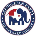 Republican Party of Navarro County Logo